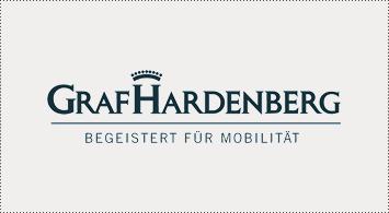 Ulms Kleine Spatzen –Race Across America –Unsere Sponsoren, Graf Hardenberg, Begeistert für Mobilität